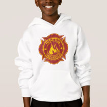 Piston Peak Fire & Rescue Badge Hoodie