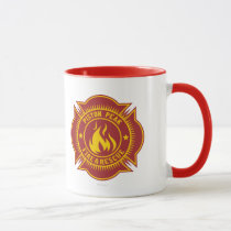 Piston Peak Fire & Rescue Badge Mug