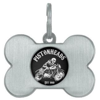 PistonHeads Placa De Nombre De Mascota