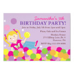 Pit Ball Birthday Party Invitations