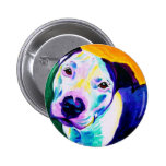 Pit Bull #1 Pinback Buttons