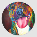 Pit Bull #2 Classic Round Sticker