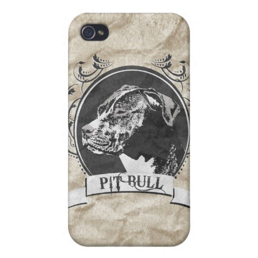 PIT BULL (2) COVER FOR iPhone 4
