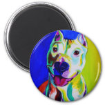 Pit Bull #3 Refrigerator Magnets