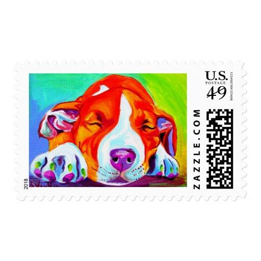 Pit Bull #7 Postage Stamp