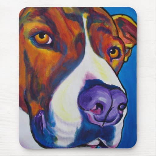 Pit Bull #9 Mouse Pad