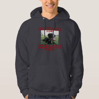 Pit Bull A Family Dog Hoodie