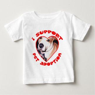 Pit bull adoption baby T-Shirt