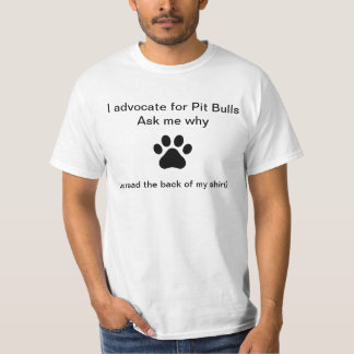 Pit Bull Advocate Shirt