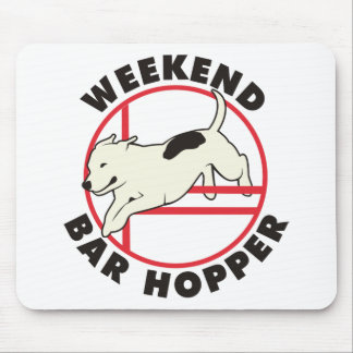 Pit Bull Agility Weekend Bar Hopper Mouse Pad