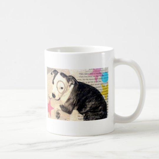 pit bull / amstaff pup coffee mug