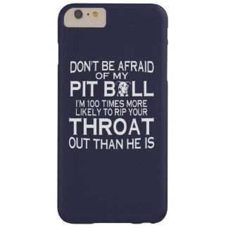 PIT BULL BARELY THERE iPhone 6 PLUS CASE