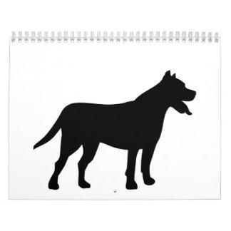Pit bull calendar