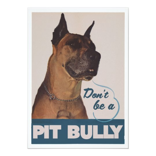 Pit Bull Card