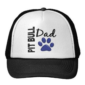 Pit Bull Dad 2 Trucker Hat