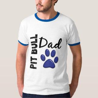 Pit Bull Dad 2 T-Shirt