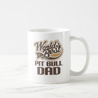 Pit Bull Dad (Worlds Best) Coffee Mug