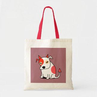 Pit Bull Devil Tote Bag