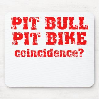 Pit Bull Dirt Bike Motocross Pit Bike Mousepad