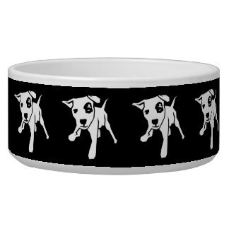 Pit Bull Dog Bowl