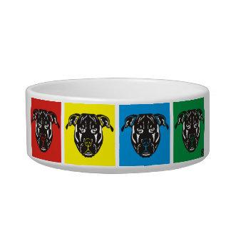 Pit Bull Dog Bowl PawsID
