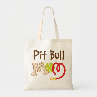 Pit Bull Dog Breed Mom Gift Tote Bag