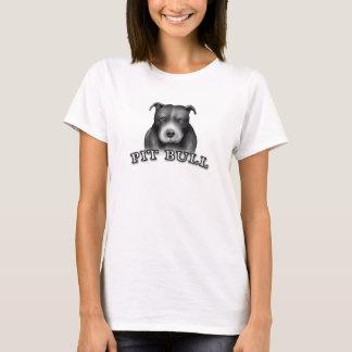 Pit Bull Dog Custom Design Dog Art Tshirt