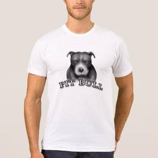 Pit Bull Dog Custom Design Dog Art White Tshirt