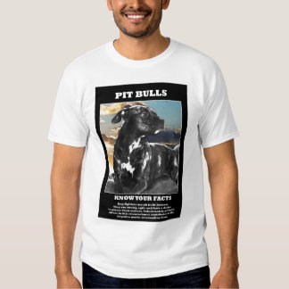Pit Bull facts T Shirt