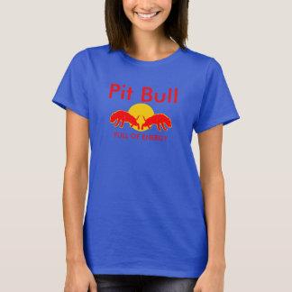 Pit Bull Full of Energy Slogan Tee Shirt