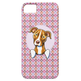 Pit Bull Girly Pink Paw Prints iPhone SE/5/5s Case