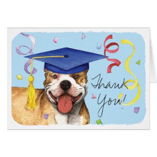 Pit Bull Graduate Card