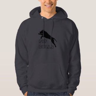 Pit Bull Hoodie Pul Over - Promote Pits