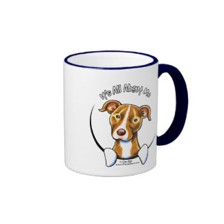Pit Bull :: It's All About Me Ringer Mug