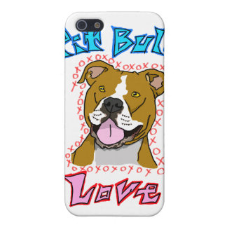 Pit Bull Love iPhone 5 Cover