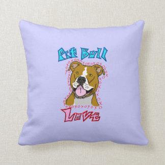 Pit Bull Love Pillows