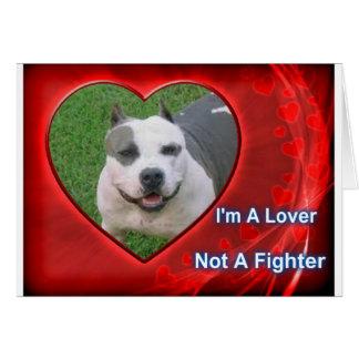 Pit Bull Lover Card