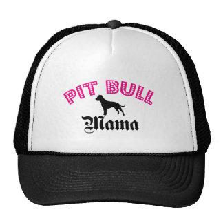 Pit Bull Mama Trucker Hat