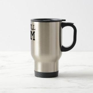 Pit Bull Mom 15 Oz Stainless Steel Travel Mug