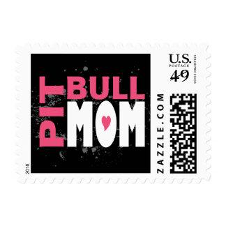 Pit Bull Mom Postage