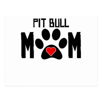 Pit Bull Mom Postcard