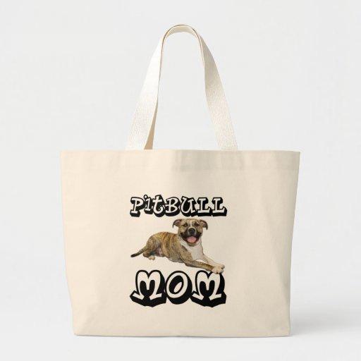 Pit Bull MOM - Tigger Jumbo Tote Bag