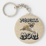 Pit Bull MOM - Tigger Keychain