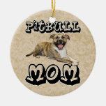Pit Bull MOM - Tigger Ornament