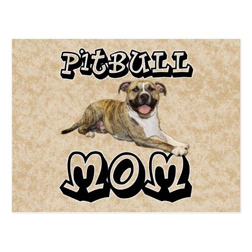 Pit Bull MOM - Tigger Postcards