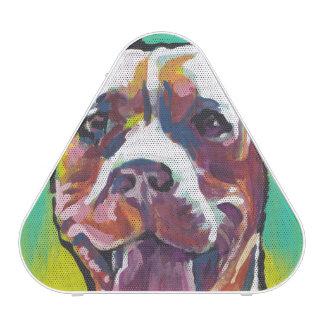 pit bull pitbull fun pop art bluetooth speaker