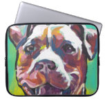 pit bull pitbull fun pop art laptop sleeve