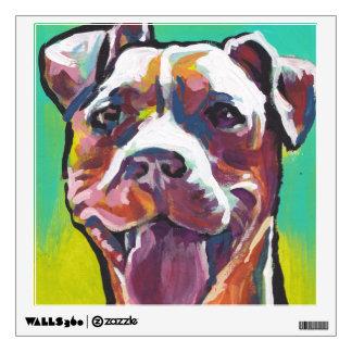 Pitbull Wall Art pit bull art wall decals & wall stickers | zazzle