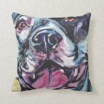 Pit Bull Pop Art Pillow