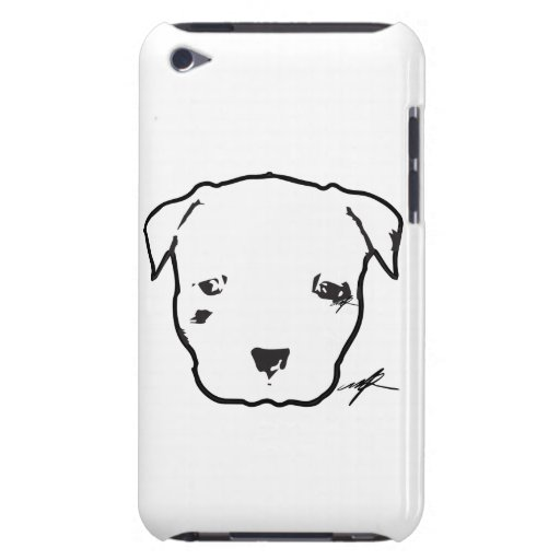 Pit Bull Puppy Logo iPod Touch 4G iPod Case-Mate Case